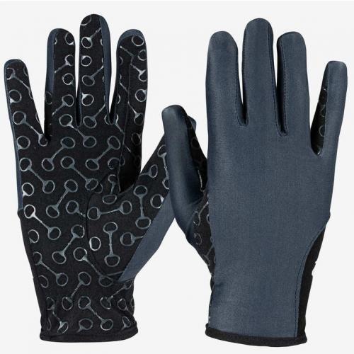 Horze Rękawiczki Palm Print Junior S20 granat