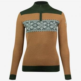 B//Vertigo Sweter Lisbeth W19 tabacco brown
