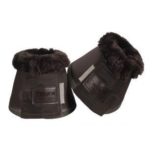 Kalosze Softslate Faux Fur P20 havanabrown