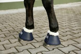 Covalliero Kalosze z futrem W20 dark blue