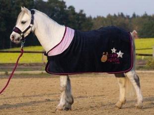Derka polarowa Star Horse navy