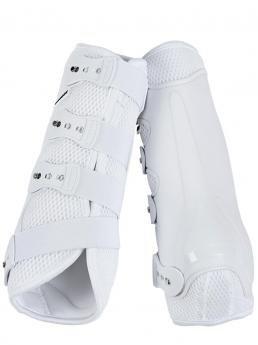 Ochraniacze Dressage Pro Mesh białe