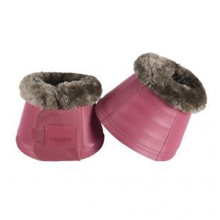 Kalosze Softslate Faux Fur S21 rouge