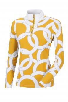Koszula konkursowa techniczna Belli W21 gold/grey