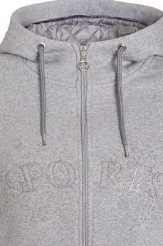 Bluza Cassie W21 silver-melange